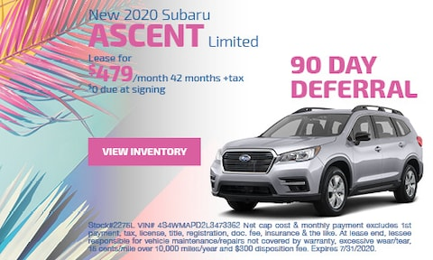New 2020 Subaru Ascent Limited