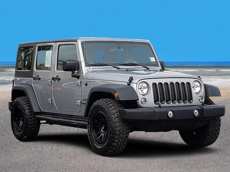 Bob Baker Jeep >> Used 2017 Jeep Wrangler Jk Unlimited Sport For Sale In Carlsbad Ca