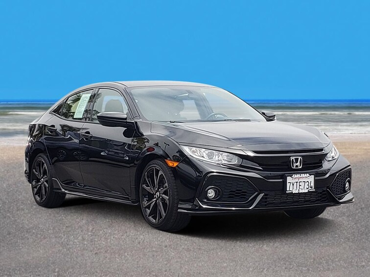 Used 2017 Honda Civic Sport Hatchback Carlsbad