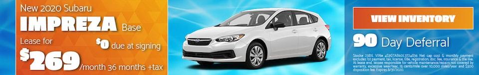 New 2020 Subaru Impreza Base