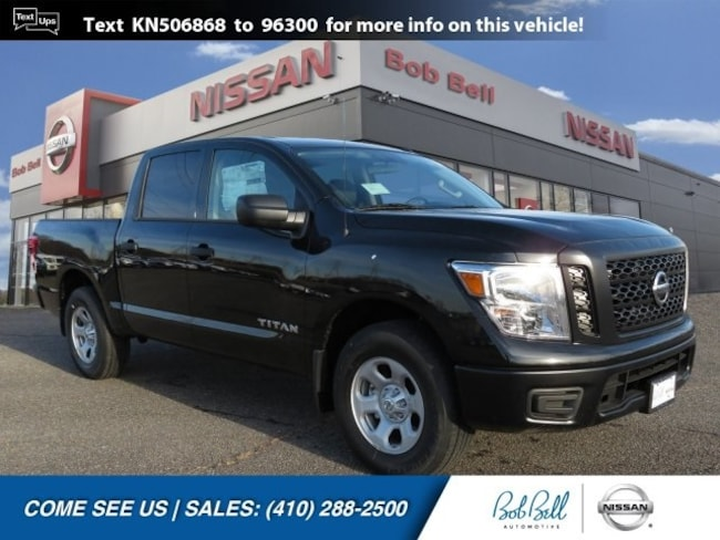 New 2019 Nissan Titan S Truck Crew Cab in Baltimore