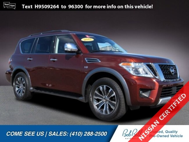 Certified Used 2017 Nissan Armada SL SUV in Baltimore