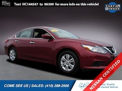 Certified Pre-Owned 2017 Nissan Altima 2.5 S Sedan in Baltimore
