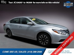 Certified Pre-Owned 2018 Nissan Altima 2.5 SL Sedan in Baltimore