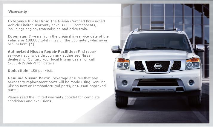 Nissan Certified Cash Back And Financing Price Savings