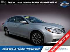 Certified Pre-Owned 2017 Nissan Altima 2.5 SV Sedan in Baltimore