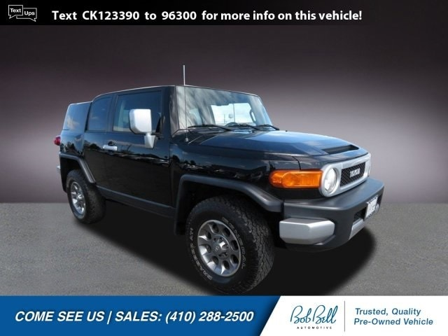 2012 Toyota FJ Cruiser Base SUV