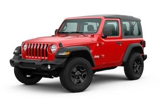 New 2020 Jeep Wrangler SPORT 4X4 Sport Utility 1C4GJXAG9LW193721 Lancaster