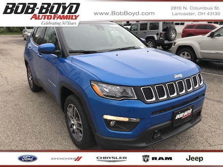 Featured New 2020 Jeep Compass SUN AND SAFETY FWD Sport Utility 3C4NJCBB3LT230027 for sale in Lancaster, OH