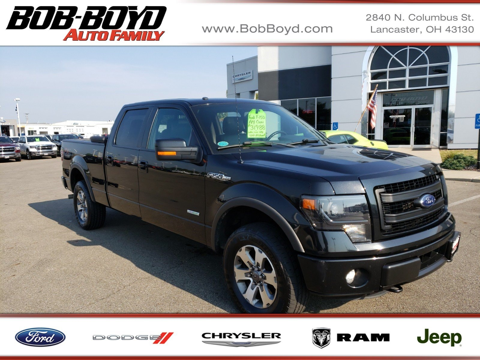 Featured Used 2014 Ford F-150 FX4 Truck SuperCrew Cab for sale in Lancaster, OH
