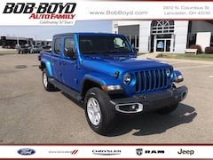 New 2021 Jeep Gladiator SPORT S 4X4 Crew Cab 1C6HJTAG7ML505588 for sale in Lancaster, OH