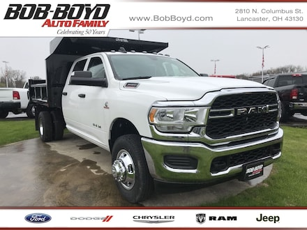 Featured New 2019 Ram 3500 Chassis Cab 3500 TRADESMAN CREW CAB CHASSIS 4X4 172.4 WB Crew Cab 3C7WRTCL1KG553183 for sale in Lancaster, OH