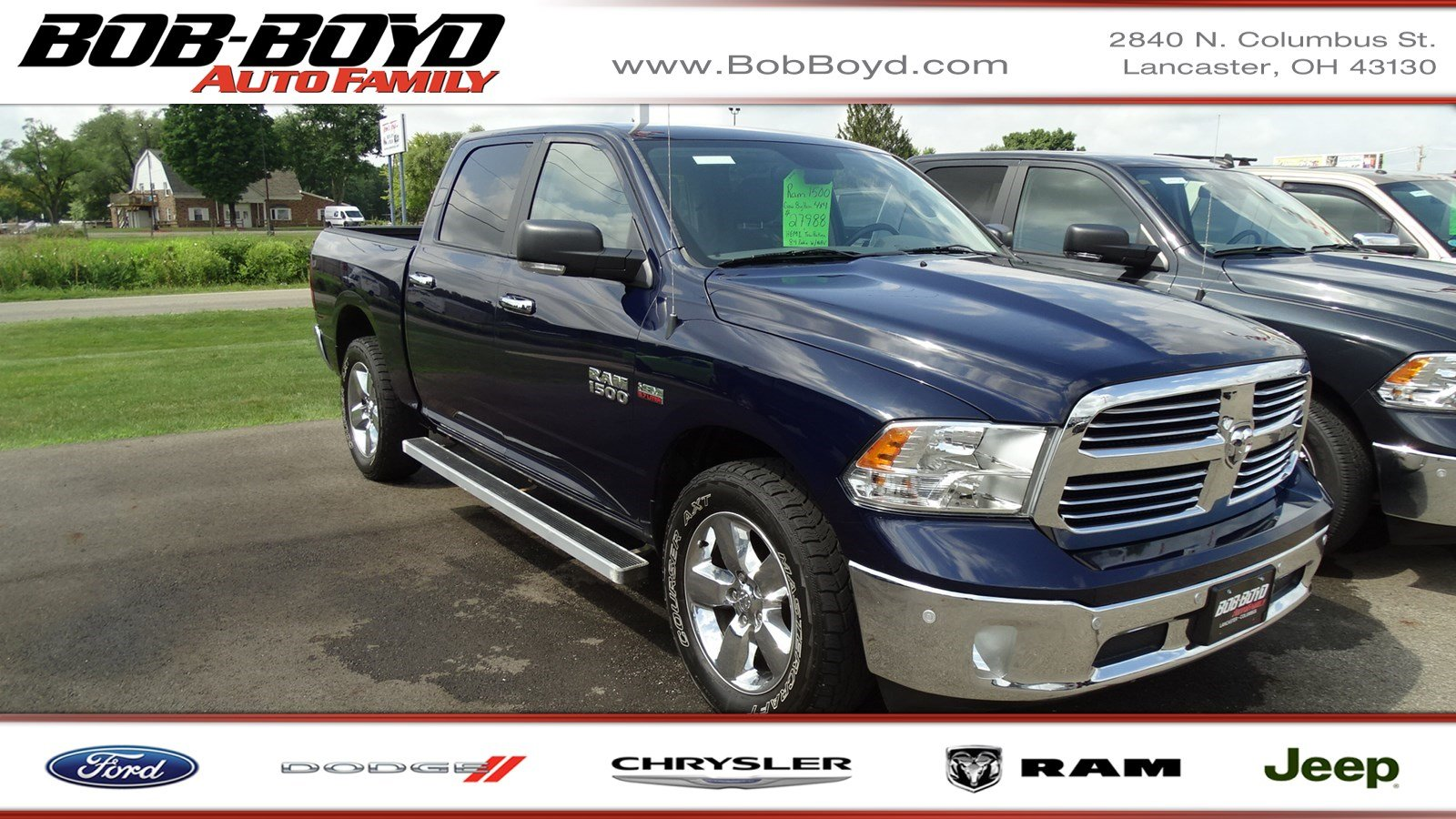 Featured Used 2015 Ram 1500 Big Horn Truck Crew Cab for sale in Lancaster, OH
