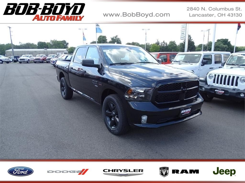 Featured New 2019 Ram 1500 Classic EXPRESS CREW CAB 4X4 5'7 BOX Crew Cab 1C6RR7KT6KS506377 for sale in Lancaster, OH