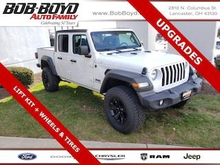 New 2020 Jeep Gladiator SPORT S 4X4 Crew Cab 1C6HJTAG5LL122778 Lancaster