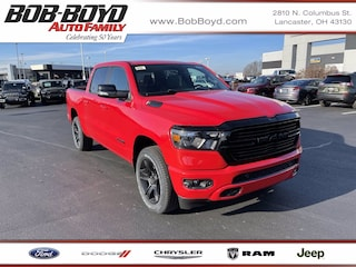 New Commercial 2021 Ram 1500 BIG HORN CREW CAB 4X4 5'7 BOX Crew Cab 1C6SRFFT2MN601381 for sale in Lancaster, OH