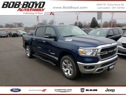 Featured New 2019 Ram All-New 1500 BIG HORN / LONE STAR CREW CAB 4X4 5'7 BOX Crew Cab 1C6RRFFG1KN815776 for sale in Lancaster, OH