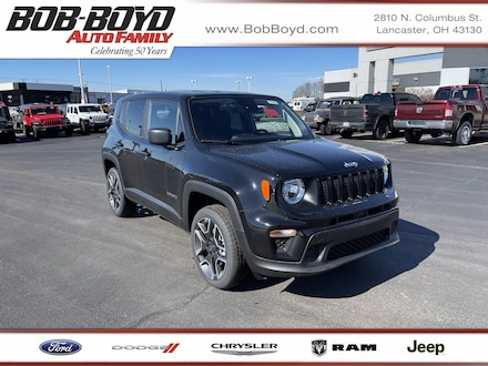 Featured New 2021 Jeep Renegade JEEPSTER 4X4 Sport Utility ZACNJDAB4MPM41749 for sale in Lancaster, OH