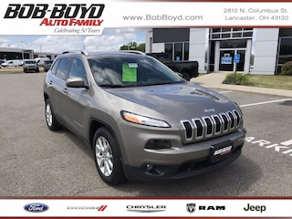 Pre-Owned 2017 Jeep Cherokee Latitude SUV 1C4PJLCBXHW642440 for Sale in Lancaster, OH