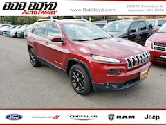 Certified Pre-Owned 2017 Jeep Cherokee Latitude SUV for sale near you in Lancaster, OH