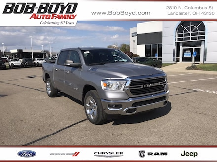 Featured New 2021 Ram 1500 BIG HORN CREW CAB 4X4 5'7 BOX Crew Cab 1C6SRFFT0MN514479 for sale in Lancaster, OH
