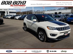 Certified Pre-Owned 2019 Jeep Compass Limited SUV for sale near you in Lancaster, OH