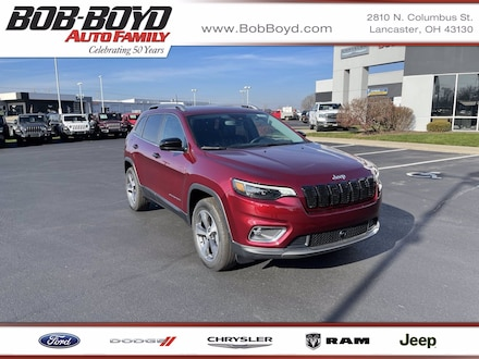 Featured New 2020 Jeep Cherokee LIMITED 4X4 Sport Utility 1C4PJMDN8LD655335 for sale in Lancaster, OH