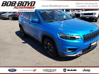 New 2020 Jeep Cherokee ALTITUDE FWD Sport Utility 1C4PJLLB8LD528389 Lancaster