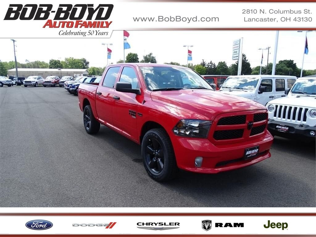Featured 2019 Ram 1500 Classic EXPRESS CREW CAB 4X4 5'7 BOX Crew Cab 1C6RR7KT8KS506378 for sale in Lancaster, OH