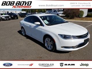 Pre-Owned 2015 Chrysler 200 Limited Sedan 1C3CCCAB6FN690732 for Sale in Lancaster, OH