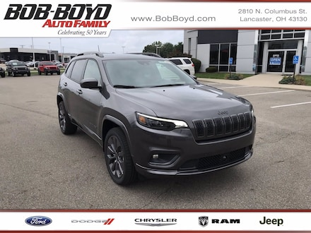 Featured New 2020 Jeep Cherokee HIGH ALTITUDE 4X4 Sport Utility 1C4PJMDXXLD646492 for sale in Lancaster, OH