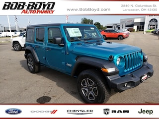 New 2020 Jeep Wrangler UNLIMITED SPORT S 4X4 Sport Utility 1C4HJXDN7LW137887 Lancaster