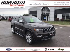 Certified Pre-Owned 2017 Jeep Grand Cherokee Limited 4x4 for sale near you in Lancaster, OH