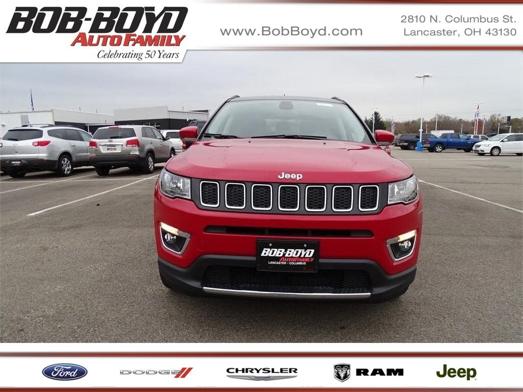 Featured New 2019 Jeep Compass LIMITED FWD Sport Utility 3C4NJCCB9KT636424 for sale in Lancaster, OH