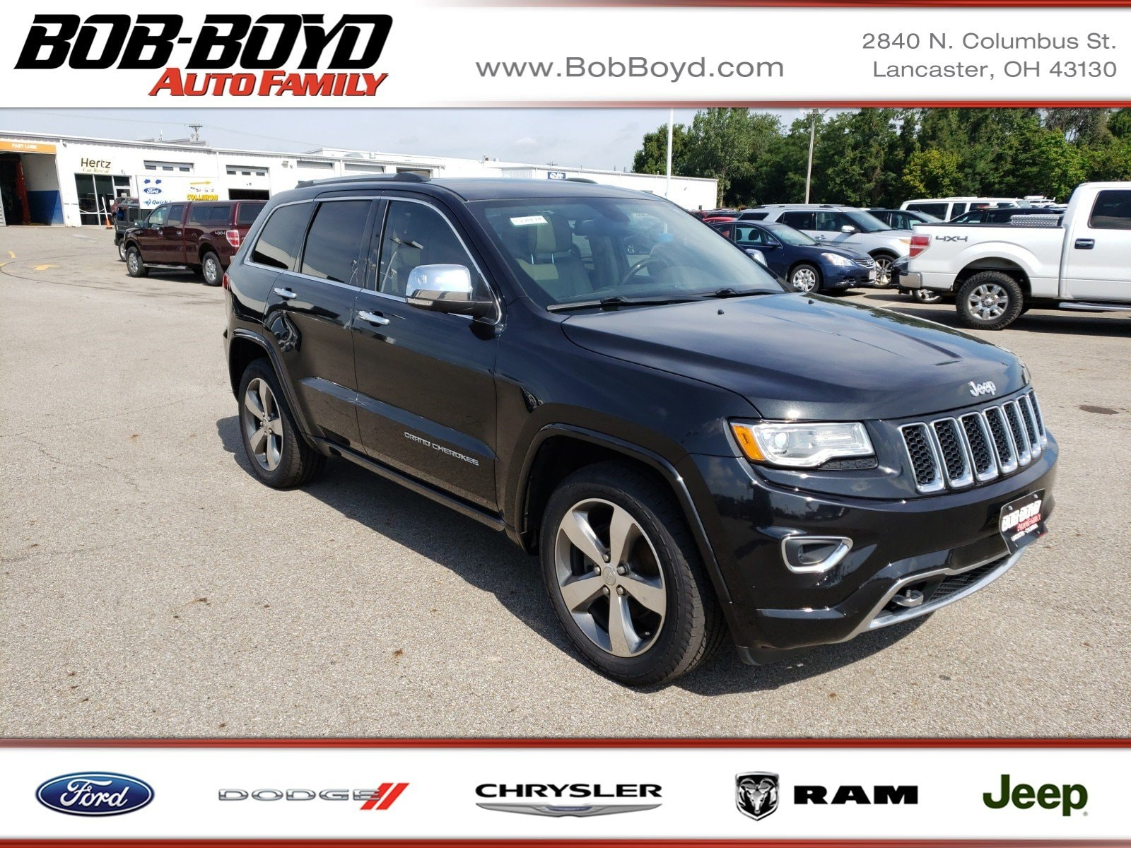 Featured Used 2015 Jeep Grand Cherokee Overland SUV for sale in Lancaster, OH
