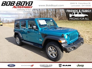 New 2020 Jeep Wrangler UNLIMITED FREEDOM 4X4 Sport Utility 1C4HJXDN7LW206366 Lancaster