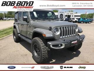 New 2020 Jeep Wrangler UNLIMITED SAHARA 4X4 Sport Utility 1C4HJXEG4LW186772 Lancaster