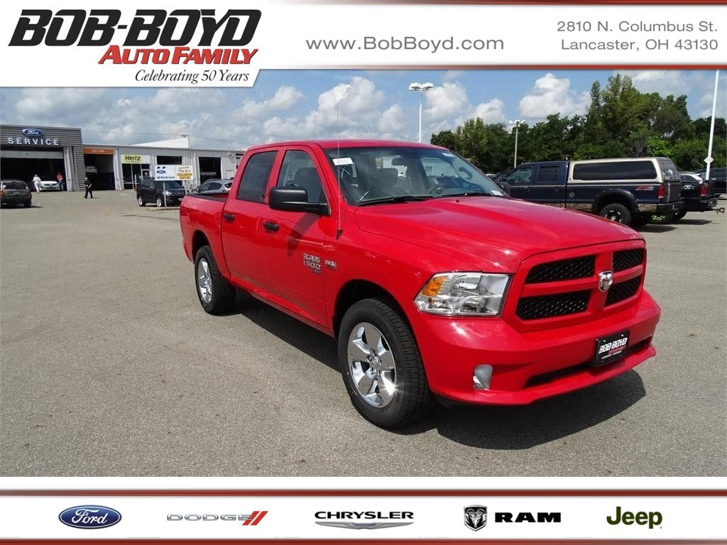 Featured 2019 Ram 1500 Classic EXPRESS CREW CAB 4X4 5'7 BOX Crew Cab 1C6RR7KT6KS506329 for sale in Lancaster, OH