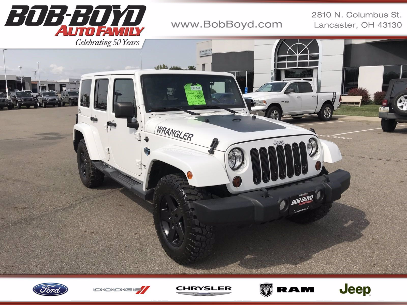 2012 Jeep Wrangler Unlimited 4WD *Ltd Avail*