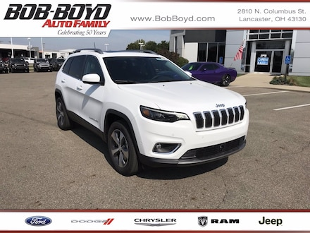 Featured New 2020 Jeep Cherokee LIMITED 4X4 Sport Utility 1C4PJMDNXLD655336 for sale in Lancaster, OH