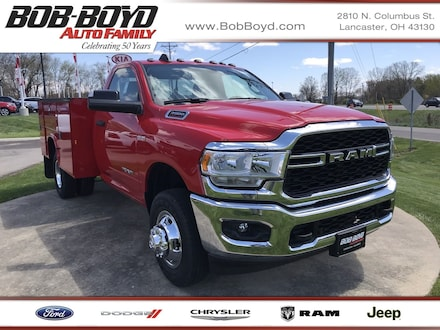 Featured New 2019 Ram 3500 Chassis Cab 3500 TRADESMAN CHASSIS REGULAR CAB 4X4 143.5 WB Regular Cab 3C7WRTAJ6KG553181 for sale in Lancaster, OH