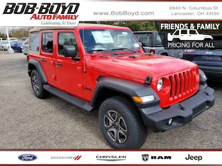 New 2020 Jeep Wrangler UNLIMITED BLACK AND TAN 4X4 Sport Utility 1C4HJXDN3LW163113 Lancaster