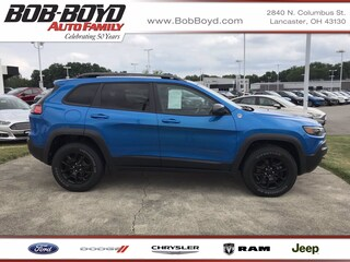 Pre-Owned 2019 Jeep Cherokee Trailhawk Elite 4x4 1C4PJMBN2KD168410 for Sale in Lancaster, OH