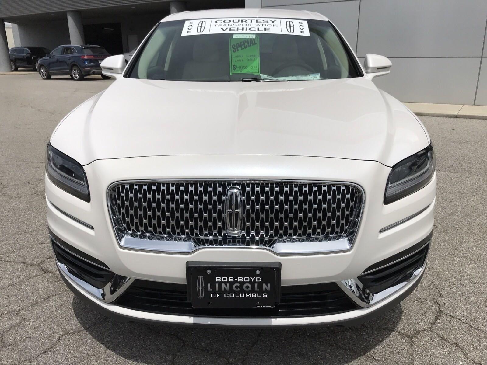 New 2019 Lincoln Nautilus For Sale at Bob-Boyd Auto Family