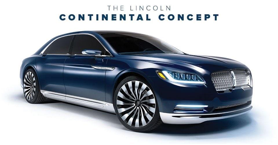 2017 Lincoln Continental Concept Car Bob Boyd Lincoln Inc