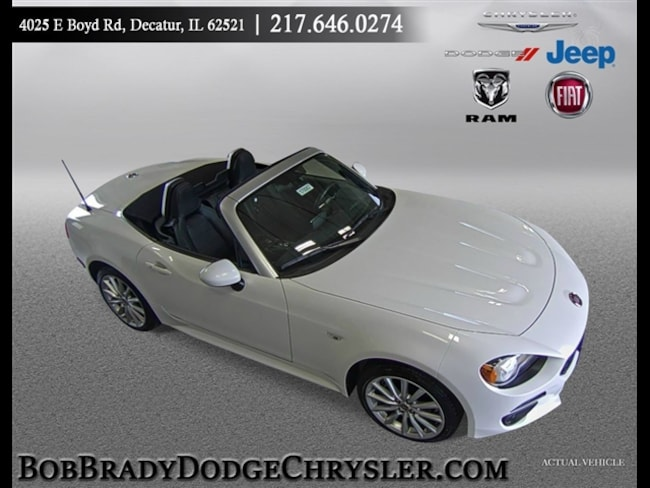 New 2017 FIAT 124 Spider LUSSO Convertible in Decatur, IL
