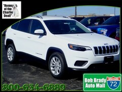 New 2020 Jeep Cherokee LATITUDE FWD Sport Utility 1C4PJLCB3LD525173 for sale in Decatur, IL