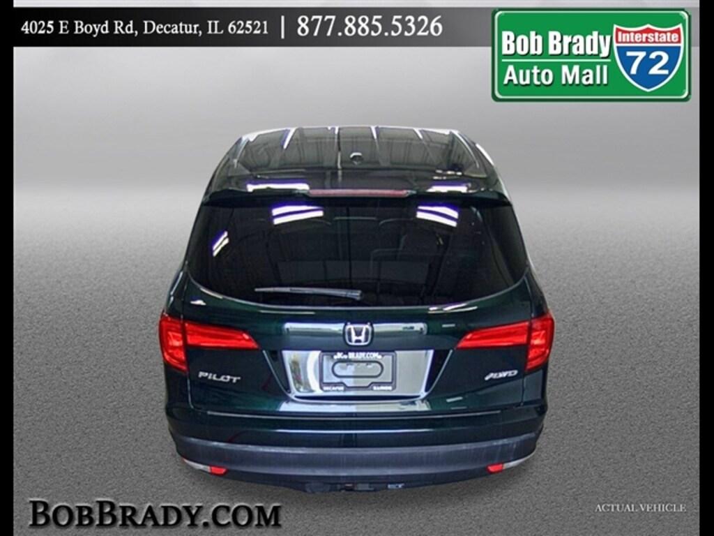 Bob Brady Honda >> Decatur Used 2016 Honda Pilot For Sale Il Decatur Springfield Champaign Bloomington Am5353a 5fnyf6h60gb078805