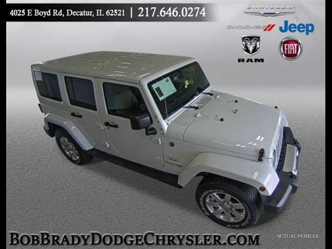 New 2018 Jeep Wrangler Unlimited WRANGLER JK UNLIMITED SAHARA 4X4 Sport Utility in Decatur, IL