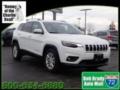 New 2019 Jeep Cherokee LATITUDE FWD Sport Utility 1C4PJLCB3KD439683 for sale in Decatur, IL